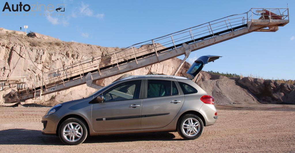 Autozine Kort Renault Clio Estate 2008 2013 5 9